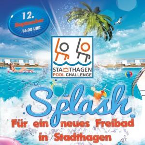 Stadthagen Pool Challenge - Poster DIN A4