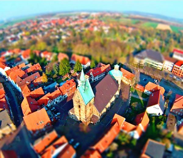 Bild 3: FlugMonster - St. Martini Kirche Stadthagen