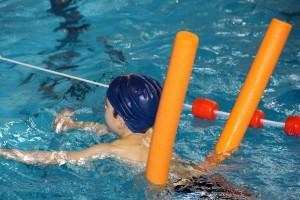 Bild 3: Kinder lernen schwimmen